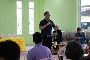 โครงการ บูรณาการกฎหมายสู่ท้องถิ่นและชุมชน ประจำปีการศึกษา 2560